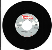 Horace Martin - Give Me The Vives / Version (Horace Martin / TRS) EU 7""